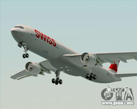 Airbus A330-300X Swiss International Air Lines para GTA San Andreas left