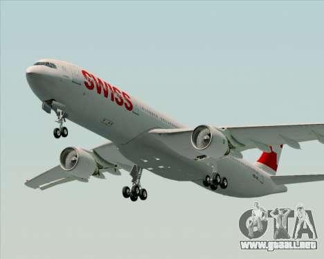 Airbus A330-300X Swiss International Air Lines para GTA San Andreas left