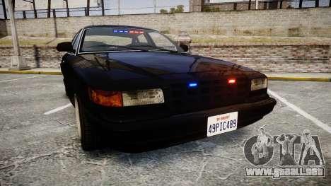 GTA V Vapid Stanier FIB [ELS] para GTA 4