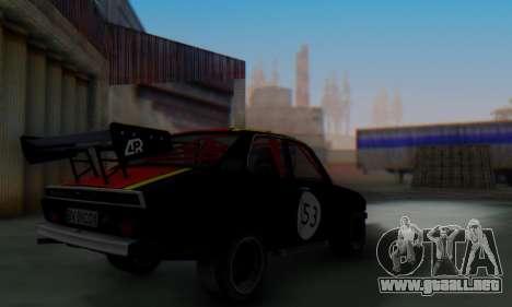 Dacia 1410 Sport para GTA San Andreas vista hacia atrás
