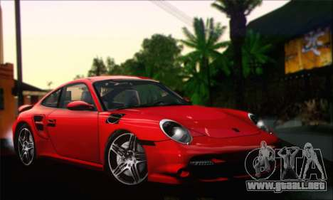 Porsche 997 Turbo Tunable para GTA San Andreas
