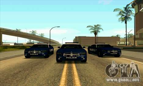 FCPD Dodge Charger SRT8 para GTA San Andreas