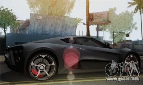 Zenvo ST1 v1.2 Final HD para GTA San Andreas left