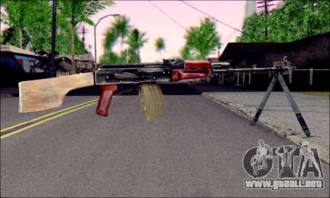 RPK-74 de ArmA 2 para GTA San Andreas segunda pantalla