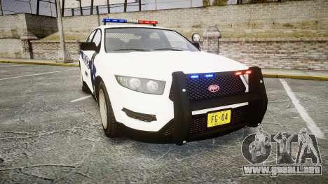 GTA V Vapid Interceptor LP [ELS] para GTA 4