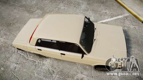 VAZ-2107 estilo de azerbaiyán para GTA 4 visión correcta