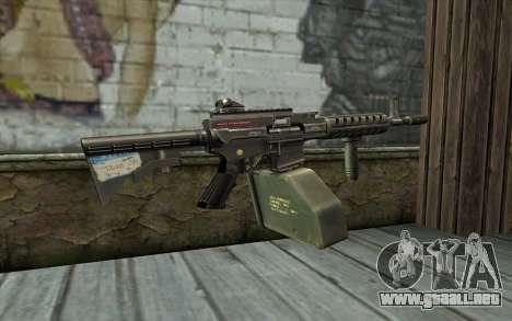 Pistola De Ares Shrike para GTA San Andreas segunda pantalla