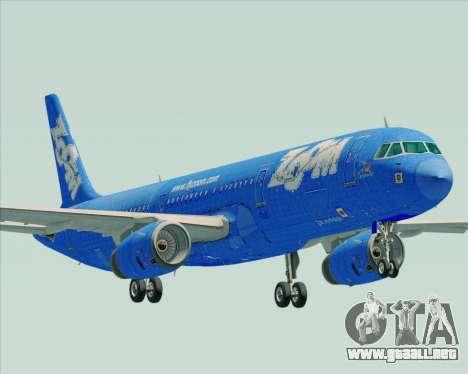 Airbus A321-200 Zoom Airlines para GTA San Andreas