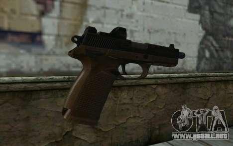 FN FNP-45 Con la Vista para GTA San Andreas segunda pantalla