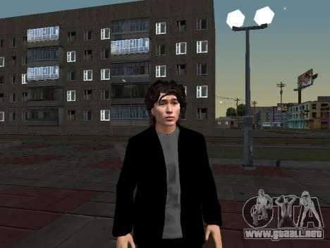 Viktor Tsoi para GTA San Andreas segunda pantalla