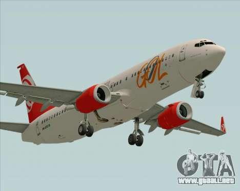 Boeing 737-800 de Gol Transportes Aéreos para GTA San Andreas left