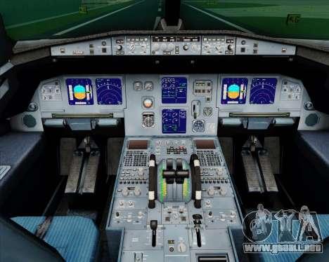 Airbus A321-200 TAP Portugal para GTA San Andreas interior