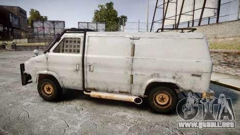 Kessler Stowaway Rusty para GTA 4 left