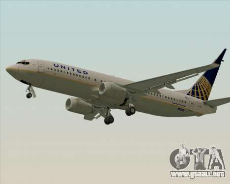Boeing 737-824 United Airlines para GTA San Andreas