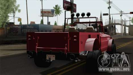 Canis Bodhi V1.0 Clean para GTA San Andreas left