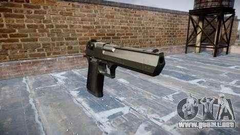 Pistola IMI Desert Eagle Mc XIX Negro para GTA 4