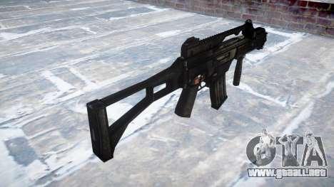 Fusil de asalto HK G36C para GTA 4 segundos de pantalla