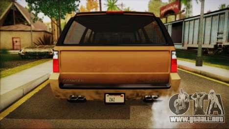 GTA 5 Granger para la visión correcta GTA San Andreas
