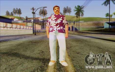Diaz Gang from GTA Vice City Skin 1 para GTA San Andreas
