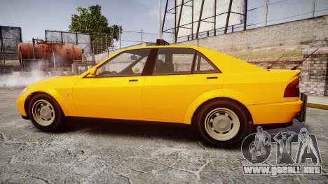 Karin Sultan Taxi para GTA 4 left