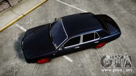 Bentley Arnage T 2005 Rims4 para GTA 4 visión correcta