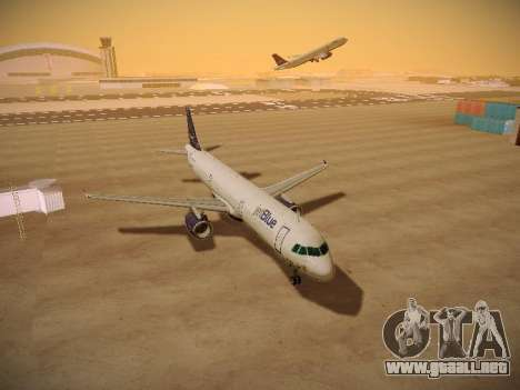 Airbus A321-232 jetBlue Woo-Hoo jetBlue para visión interna GTA San Andreas