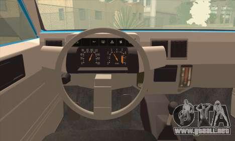 Oltcit Club 12 TRS para GTA San Andreas vista posterior izquierda
