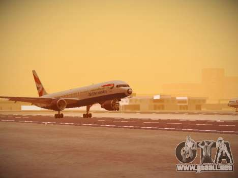 Boeing 757-236 British Airways para GTA San Andreas left