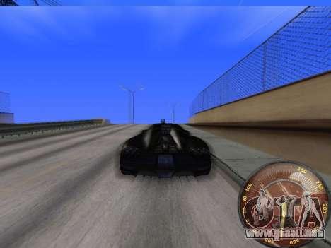 Velocímetro HITMAN para GTA San Andreas sucesivamente de pantalla