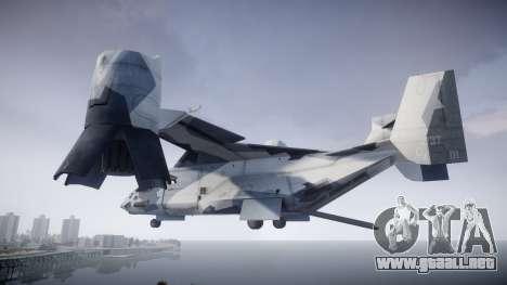 VTOL Warship PJ3 para GTA 4 left