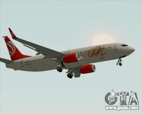 Boeing 737-800 de Gol Transportes Aéreos para las ruedas de GTA San Andreas