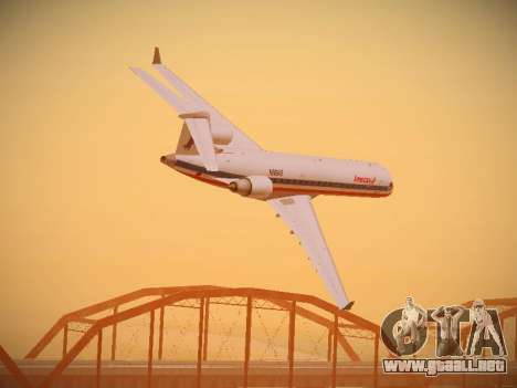 Bombardier CRJ-700 American Eagle para GTA San Andreas interior
