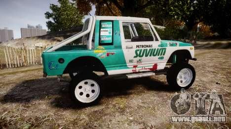 Suzuki Samurai para GTA 4 left