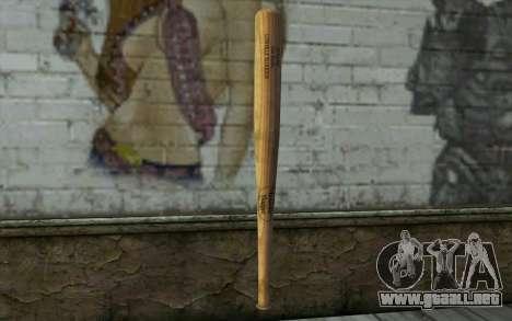 Бита (DayZ Standalone) para GTA San Andreas segunda pantalla