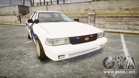 GTA V Vapid Cruiser LP [ELS] Slicktop para GTA 4