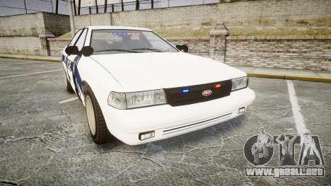 GTA V Vapid Cruiser LP [ELS] Slicktop para GTA 4