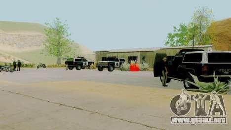 La reactivación de todas las comisarías de polic para GTA San Andreas décimo de pantalla