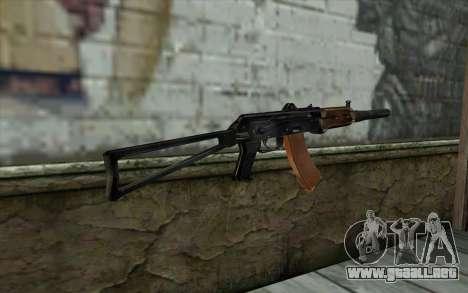 AKS-74U con PBS-5 para GTA San Andreas segunda pantalla