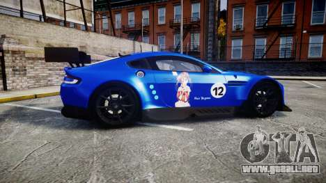 Aston Martin Vantage GTE Nico Yazawa para GTA 4 left