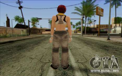 Mila 2Wave from Dead or Alive v16 para GTA San Andreas segunda pantalla