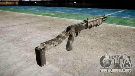 Ружье Franchi SPAS-12 de Fibra de Carbono para GTA 4 segundos de pantalla