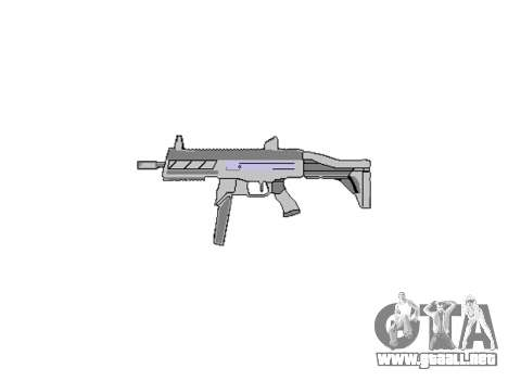 Pistola de SMT40 con la culata icon3 para GTA 4 tercera pantalla