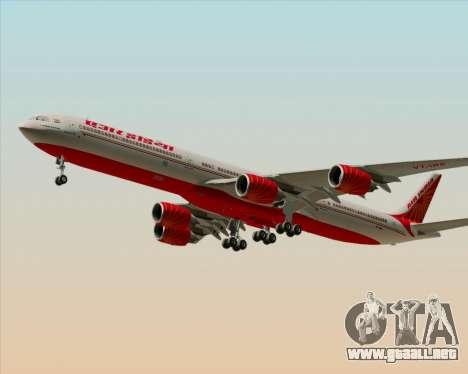 Airbus A340-600 Air India para GTA San Andreas left