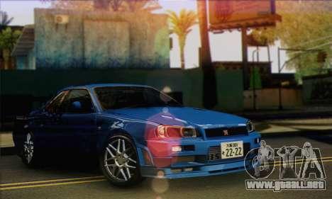 Nissan Skyline R-34 para GTA San Andreas