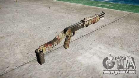 Ружье Franchi SPAS-12 Ronin para GTA 4 segundos de pantalla