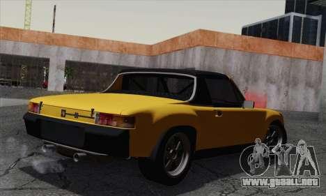 Porsche 914 para GTA San Andreas left