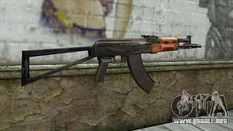 El AK-105 para GTA San Andreas segunda pantalla