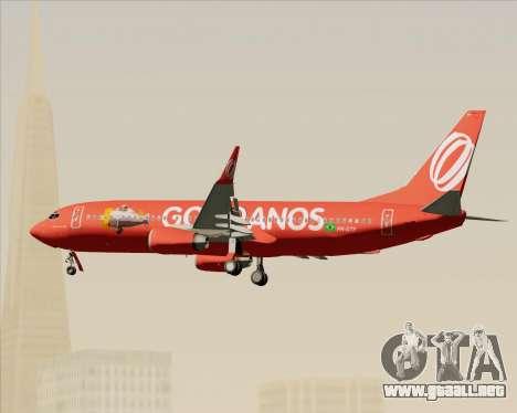 Boeing 737-800 de Gol Transportes Aéreos para vista inferior GTA San Andreas