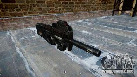 Pistola de Fabrique Nationale P90 para evitar se para GTA 4