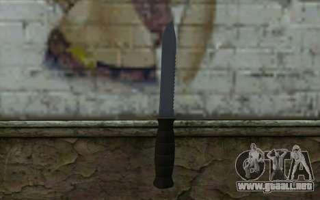 Cuchillo de combate (DayZ Standalone) v2 para GTA San Andreas